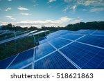 power plant using renewable... | Shutterstock . vector #518621863