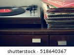 vinyl music melody leisure rest ... | Shutterstock . vector #518640367