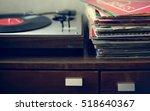 vinyl music melody leisure rest ... | Shutterstock . vector #518640367