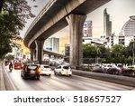 City Traffic Evening Blurred