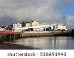 ramsey harbour  isle of man  uk.... | Shutterstock . vector #518691943