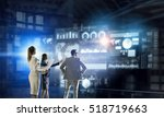 high technologies for your... | Shutterstock . vector #518719663