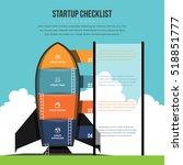 vector illustration of startup...   Shutterstock .eps vector #518851777