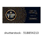 vip club party premium... | Shutterstock .eps vector #518854213