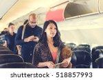 Small photo of Travel Passenger Aeroplane Transportation Concept