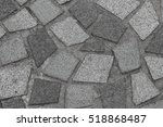 black and white  stone wall... | Shutterstock . vector #518868487