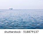 Ship On The Sea Horizon