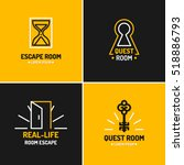 real life room escape. the logo ...