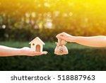 loans for real estate concept ... | Shutterstock . vector #518887963