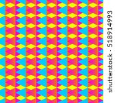 seamless pattern with triangles ... | Shutterstock .eps vector #518914993