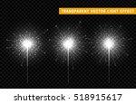 festive christmas sparkler... | Shutterstock .eps vector #518915617