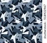 Abstract Vector Blue Military...
