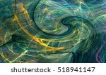 abstract fractal background.... | Shutterstock . vector #518941147