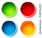 bright and glossy circle shape  ...   Shutterstock .eps vector #518956423