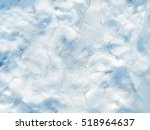 Background Of Snow Texture In...