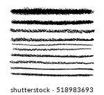 brush and pencil strokes. ink...   Shutterstock .eps vector #518983693