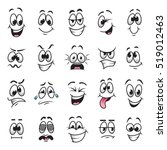 cartoon faces expressions...