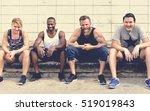 active people sport workout... | Shutterstock . vector #519019843