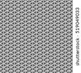 geometric polygon seamless... | Shutterstock .eps vector #519049033