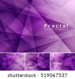 fractal abstract background.... | Shutterstock .eps vector #519067537