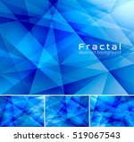 fractal abstract background.... | Shutterstock .eps vector #519067543