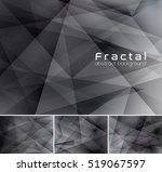 fractal abstract background.... | Shutterstock .eps vector #519067597