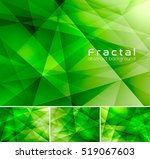 fractal abstract background.... | Shutterstock .eps vector #519067603