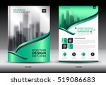 annual report brochure flyer... | Shutterstock .eps vector #519086683