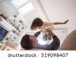 cheerful young boy having fun... | Shutterstock . vector #519098407