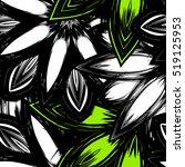 floral background. full... | Shutterstock .eps vector #519125953