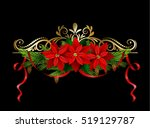 christmas elements for your... | Shutterstock .eps vector #519129787