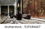 hotel lobby interior   Shutterstock . vector #519186667