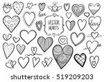 Heart Doodles | Shutterstock vector #519209203