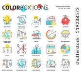 sweet icons  business and... | Shutterstock .eps vector #519238573