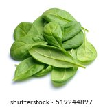 spinach leaves close up... | Shutterstock . vector #519244897