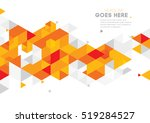 vector of modern abstract... | Shutterstock .eps vector #519284527
