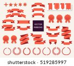 vector collection of decorative ... | Shutterstock .eps vector #519285997