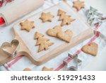 christmas cookies for children   Shutterstock . vector #519291433