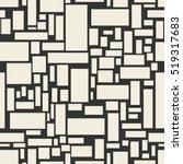 vector seamless pattern. modern ... | Shutterstock .eps vector #519317683
