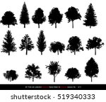 Silhouette Shadow Black Tree O...