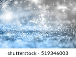 magic blue holiday abstract... | Shutterstock . vector #519346003