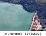 hydroelectric power plant on...