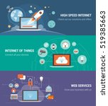 internet of things  connections ... | Shutterstock .eps vector #519385663
