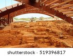 ancient buildings within the...