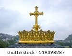 Golden Cross And Crown In...