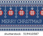 merry christmas and new year... | Shutterstock .eps vector #519410587