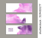vector banner shapes collection ... | Shutterstock .eps vector #519433177