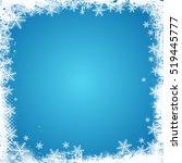 grunge style christmas... | Shutterstock .eps vector #519445777
