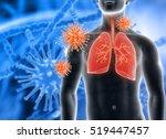 3d render of a medical... | Shutterstock . vector #519447457