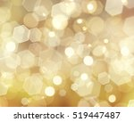gold christmas bokeh lights... | Shutterstock . vector #519447487
